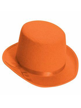 Orange Top Hat