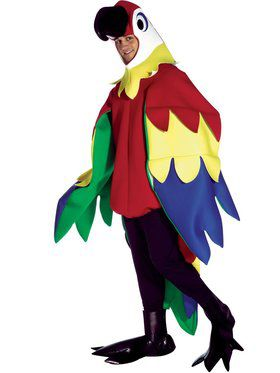 Deluxe Parrot Costume Adult