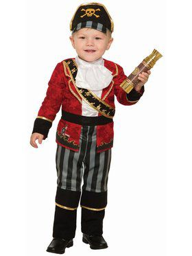 Deluxe Pirate Boy - I Child Costume