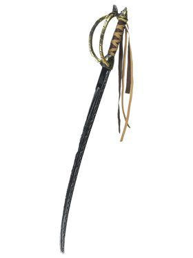 Swashbuckling Pirate Sword with Leather Tassels