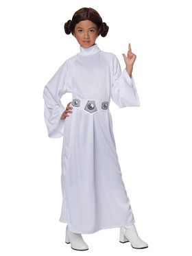 Child's Deluxe Princess Leia Costume