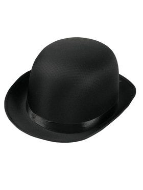 Deluxe Satin Derby - Black