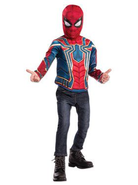 Deluxe Spider-Man Costume Top Set