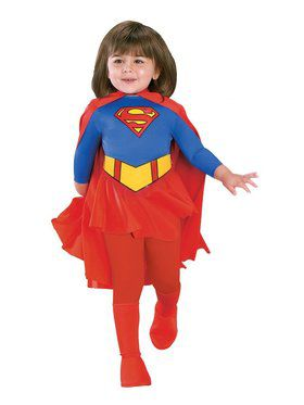 Toddler Deluxe Supergirl Costume