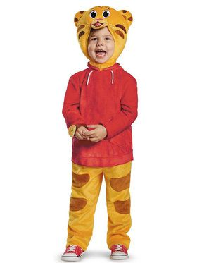 Deluxe Toddler Daniel Tiger Costume