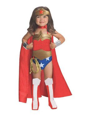 Wonder Woman Toddler Costume Deluxe