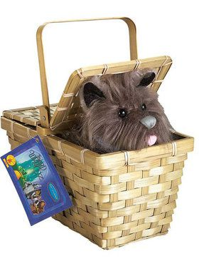 The Wizard of Oz Toto with Basket