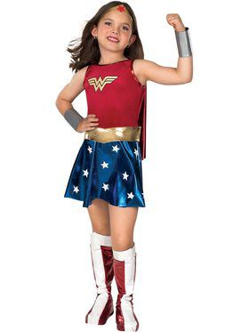 Kids Wonder Woman Costume Deluxe