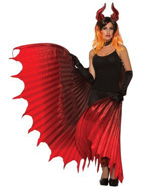 Theatrical Demon Wings Set