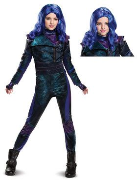 Descendants Mal Child Deluxe Costume Kit