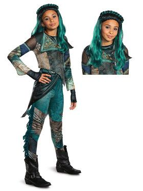 Descendants Uma Child Deluxe Costume Kit