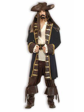 Designer High Seas Pirate Adult Costume