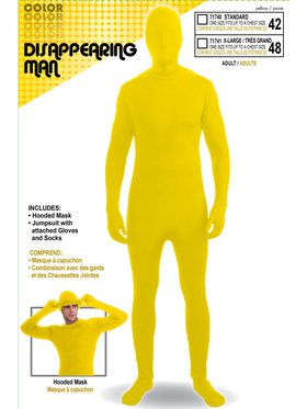 Yellow Adult Skinsuit