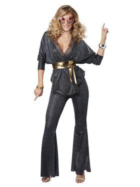 Disco Dazzler Women's Costume