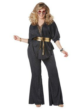 Disco Dazzler Women's Plus Costume