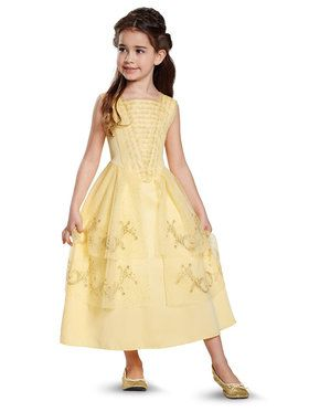 Disney Beauty and the Beast - Belle Toddler Ball Gown Classic Costume