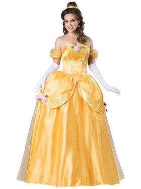 Disney Beauty and the Beast Belle Adult Ultra Prestige Costume