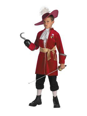 Disney Captain Hook Costume Child  sc 1 st  BuyCostumes.com & Disney Costumes - Halloween Costumes | BuyCostumes.com