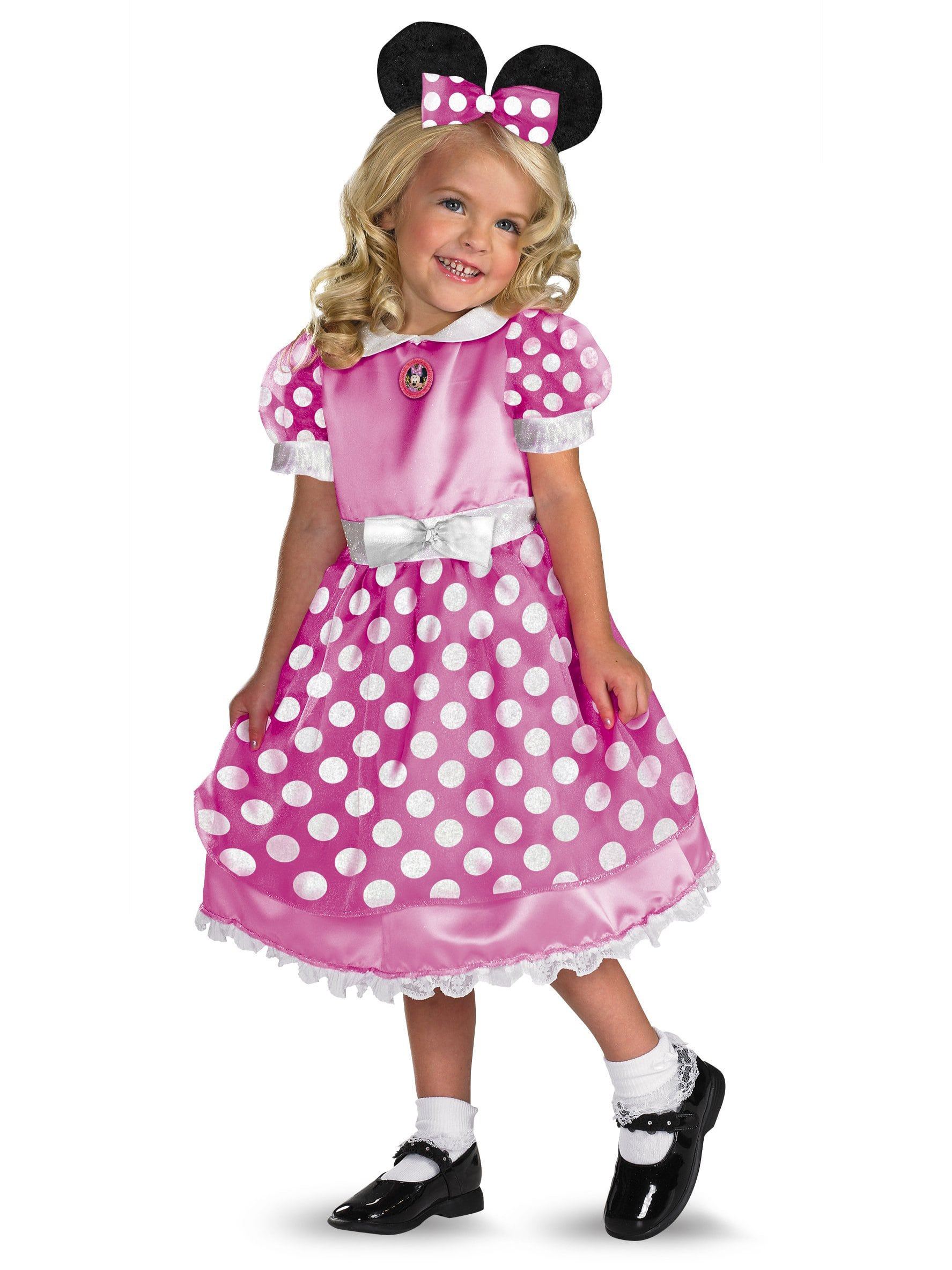 Clubhouse Minnie Mouse Pink Toddler / Child Costume - Baby Halloween Costumes | BuyCostumes.com  sc 1 st  BuyCostumes.com & Clubhouse Minnie Mouse Pink Toddler / Child Costume - Baby Halloween ...