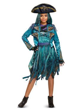 Girls Deluxe Uma Descendants 2 Disney Costume