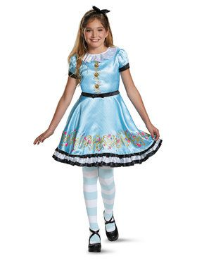 Deluxe Girls Ally Disney Descendants Costume