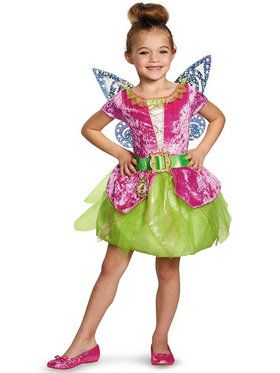 Girls Classic Pirate Tink Disney Fairies Costume