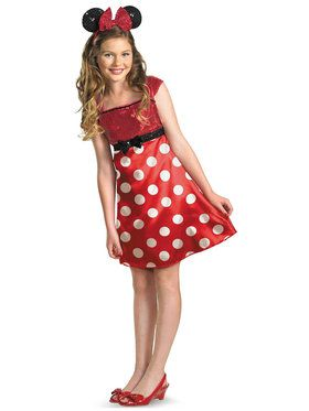 Child/Tween Mickey Mouse Clubhouse Minnie Red Costume