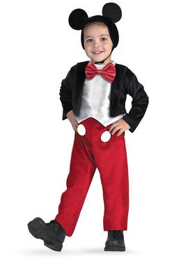 Toddler/Child Deluxe Mickey Mouse Disney Costume