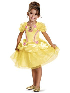 Disney Princess Belle Classic Costume For Kids
