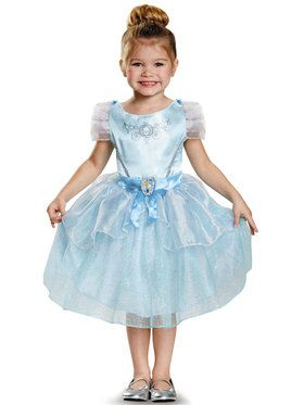 Disney Princess Cinderella Classic Costume For Kids