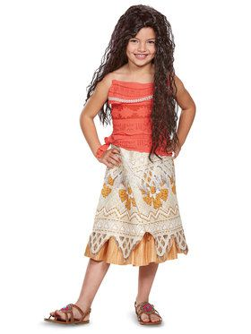 Disney Princess Moana Child Classic Costume