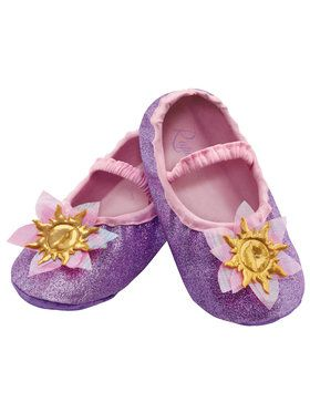Disney Princess Rapunzel Slippers For Toddler Girls