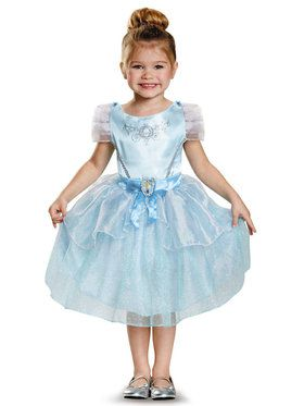 Classic Toddler Disney Princess Cinderella Costume
