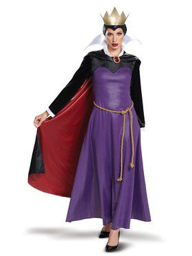 Disney Villains Evil Queen Deluxe Adult Costume