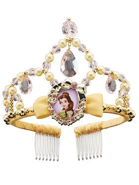 Classic Belle Disney Beauty and the Beast Tiara