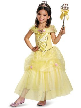 Disney's Beauty And The Beast Belle Deluxe Girl's Costume