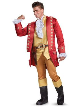 Mens Deluxe Beauty and the Beast Gaston Costume