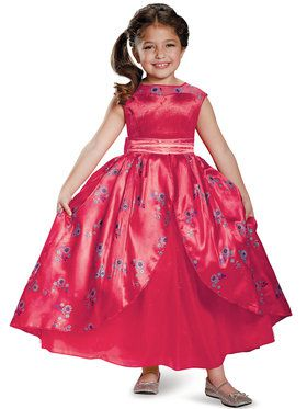 Elena of Avalor Ball Gown Deluxe Child Costume