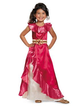 Classic Girls Elena Of Avalor Disney Costume