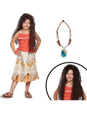 Disney's Moana Classic Children's Costume Kit