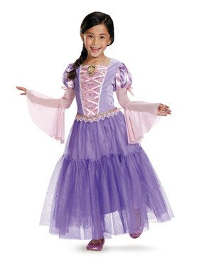 Disney's Tangled Rapunzel Deluxe Girl's Costume