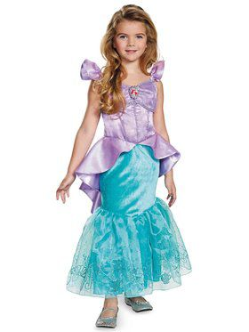 The Little Mermaid Storybook Ariel Prestige Toddler / Child Costume