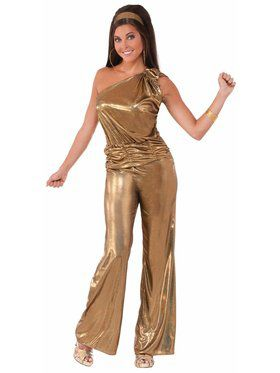 DisSolid Gold Lady - Standard Adult Costume
