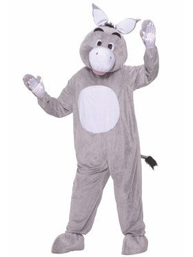Donkey Plush Adult Costume