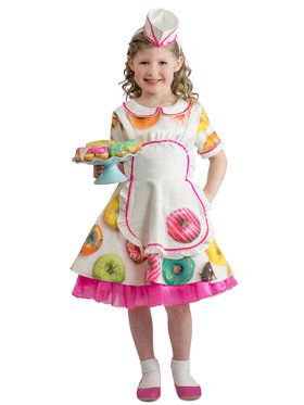 Donut Waitress Infant Costume 18M/2T