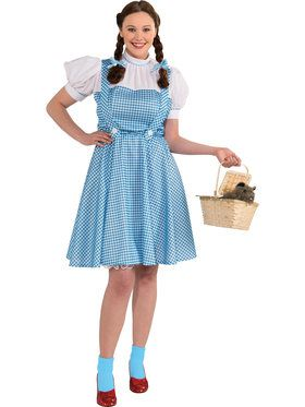 Dorothy Adult Plus Costume