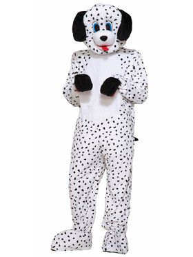 Adult Dotty The Dalmation Mascot Costume