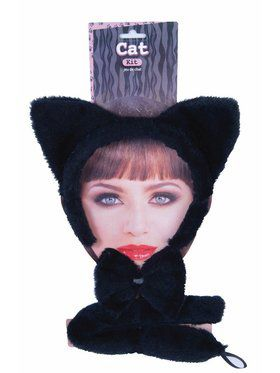 Dress Up Kit - Black Cat