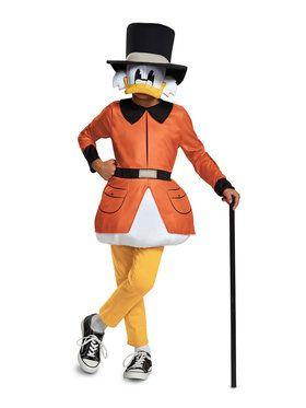 Ducktales Scrooge McDuck Classic Child Costume