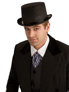 Durashape Top Hat Adult  sc 1 st  BuyCostumes.com & Historical Costumes - Adults and Kids Halloween Costumes ...